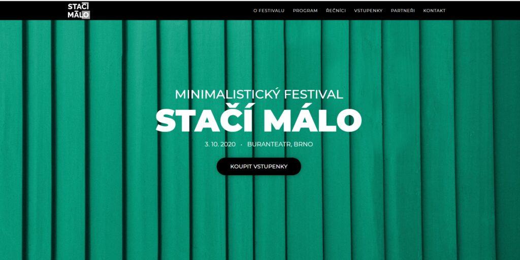 Pozvánka na minimalistický festival